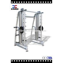 nombres de equipos de gimnasio / máquina de construcción del cuerpo / entrenador de gimnasio integrado XR-9925 máquina de Smith