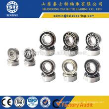 40x80x30.2 Double row angular contact ball bearing 5208 zz 2rs