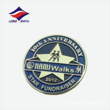 Walk anniversary activity design logo lapel badge