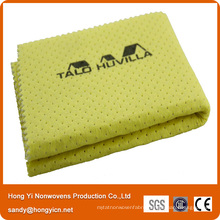 Lint Free Needle Punched Nonwoven Fabric PVA Glass Cleaning Cloth