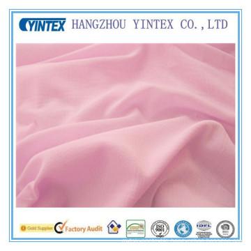 2016 Yintex 100% Cotton Satin Cotton Dyed Plain Fabric