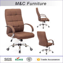 M&C best red office desk chair mid back