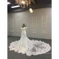 Sexy robe de mariée sirène vraiment échantillon