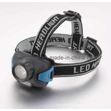 1W + 2PCS vermelho LED de alta potência LED farol / lanterna LED / tocha principal LED