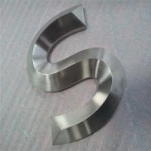 Canal de aço inoxidável 3D letras sinais