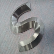 Canal de acero inoxidable 3D Letras signos