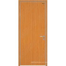 Porta de madeira do carvalho interior, portas interiores da segurança, portas interiores do folheado de madeira