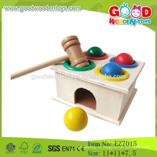 2015 Самый новый популярный деревянный ударный игрушечный игрушечный молот