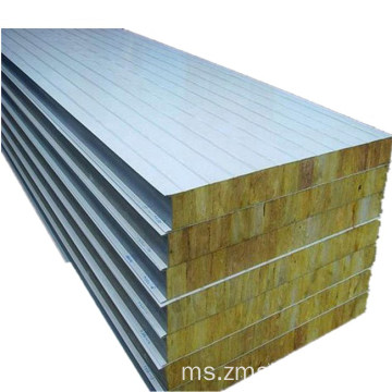 Panel Sandwish Rockwool Digunakan