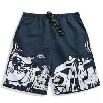 Men's Beach Shorts With Drawstring Fashion