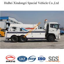 Caminhão de reboque Eurobed do leito de 25ton Dongfeng