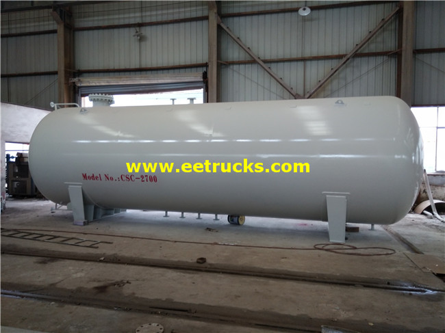 Horizontal 45cbm LPG Storage Tanks