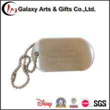 Unisex Soldier ID Tag / Custom Name Badge Necklace