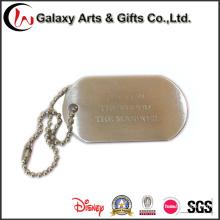Tag unisex do ID do soldado / colar conhecida emblema do emblema