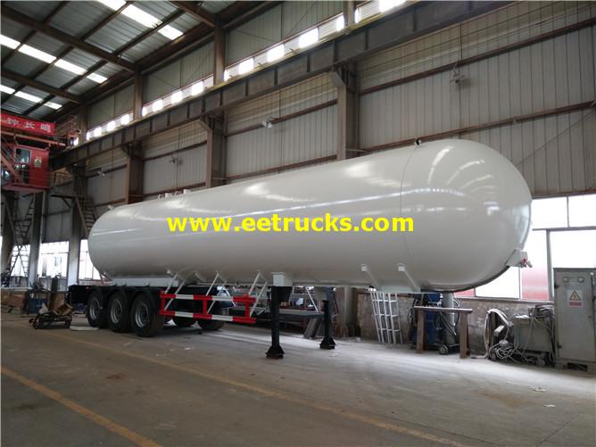 60 CBM LPG Gas Tank Semi-trailers