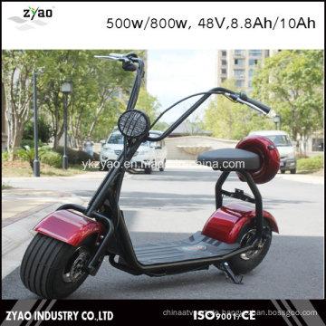 800W Mini Harley Elektroroller mit großem Reifen Ce Zulassung