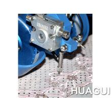 Single Phase Huagui Arm 40kh 2heads 1 Color Pearl Dmc Hot Fix Rhinestud Machine For Jeans