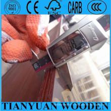 Contreplaqué de coffrage de 12mm / 15mm / 18mm faisant face à contreplaqué / contreplaqué concret de coffrage