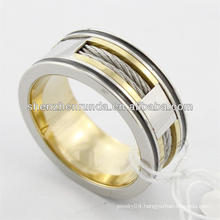 2014 new design, fashion high polish stainless steel ring with classic , charming for men ring