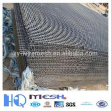Malla de alambre prensado para minería y carbón