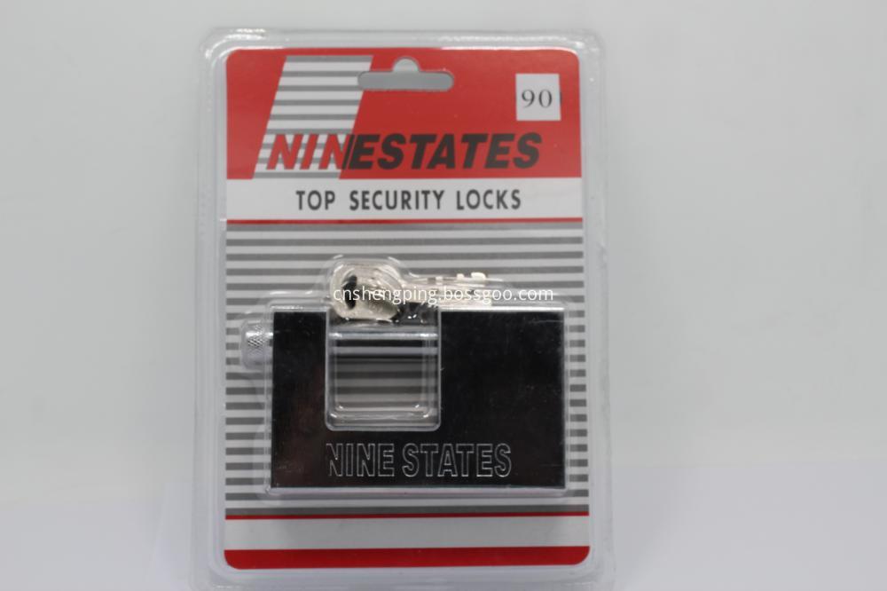 Horizontal Open Anti-Shear Locks Rectangular Lock