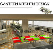 Shinelong Customized Project Canteen Kitchen Design