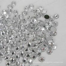 Diamant acrylique ovale à fond plat