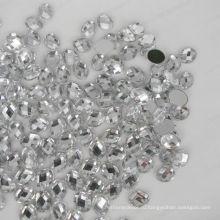 Плоский овальный акриловый алмаз