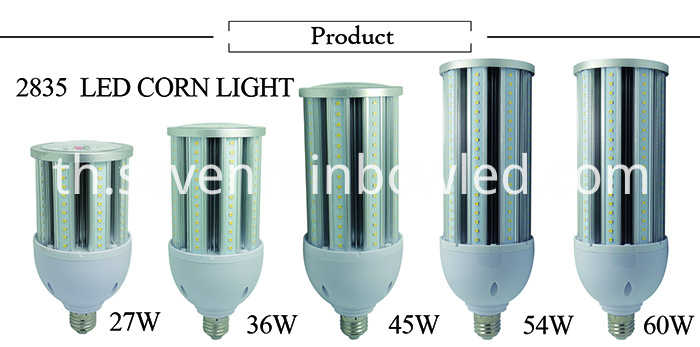 27W LED corn bulbs