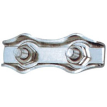 Série de clips en corde métallique à fil métallique pour attacher la corde