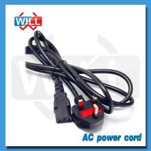 BS UK cable de alimentación estándar para portátil con enchufe C13