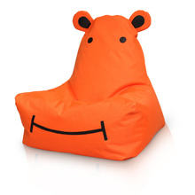 600D Hippo bean bag for kids game room