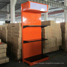 with Light Box Slatwall Supermarket Shelves