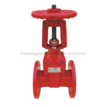 Flange Rising Stem Ductile Iron Fire Protection Gate Valve
