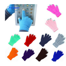 Promotional Acrylic Knit Touch Screen Gloves