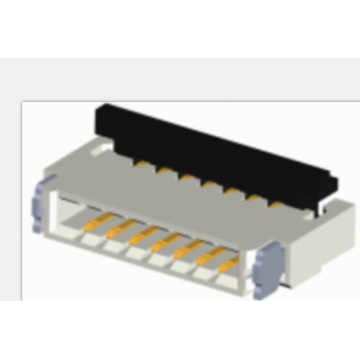 0,5 mm FFC / FPC Dual-Contact-Side-Back-Flip-Connector