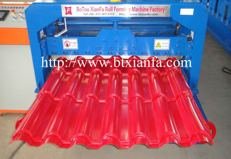 Automatic Roof Tile Making Machine 2