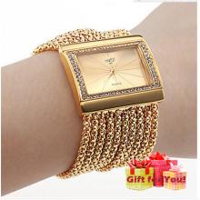 Neue Luxus quadratische Quaste Gürtel Elegance Uhr Quarzuhr Cestbella Special Geschenke Uhr
