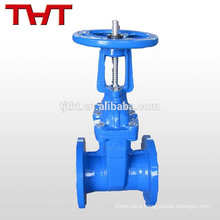 DIN Rising stem resilient wedge16 inch gate valve specification