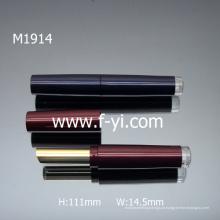 Tubos de Lipstick de tubo de plástico transparente elegante baratos Embalagem