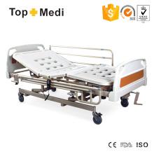 Topmedi Medical Equipment Manual Acero eléctrico cama de hospital