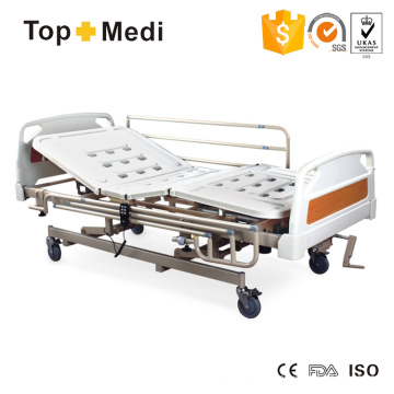 Topmedi Medical Equipment Manual Electric Steel Hospital Bed
