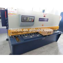 Cisaille hydraulique en tôle / qc12y-6 * 2500 coupe-cisaillement en tôle