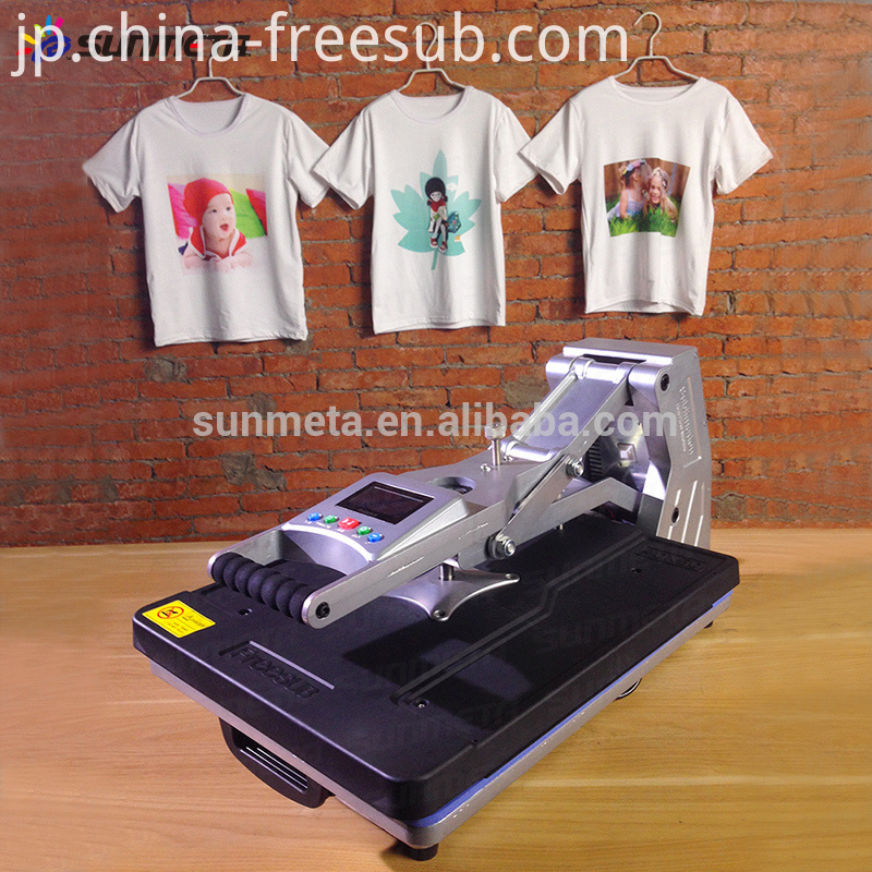 FREESUB Automatic T Shirt Printing Machines with Hydraulic