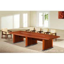 Верховая живот Oblong Shape Деревянный стол для конференций (HF-MH7020)