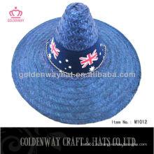 Мексиканская соломенная шляпа