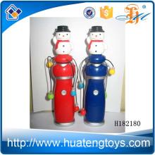 H182180 Venta caliente sacudiendo el juguete de Navidad de palo de snowman flash para niños