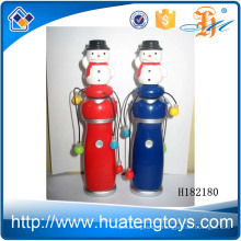 H182180 Hot selling shaking the snowman flash stick christmas toy for kids