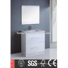 china cheap white laminate bathroom cabinets