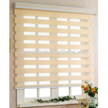 Factory Directly Supply sunscreen fabric zebra roller curtain window blinds